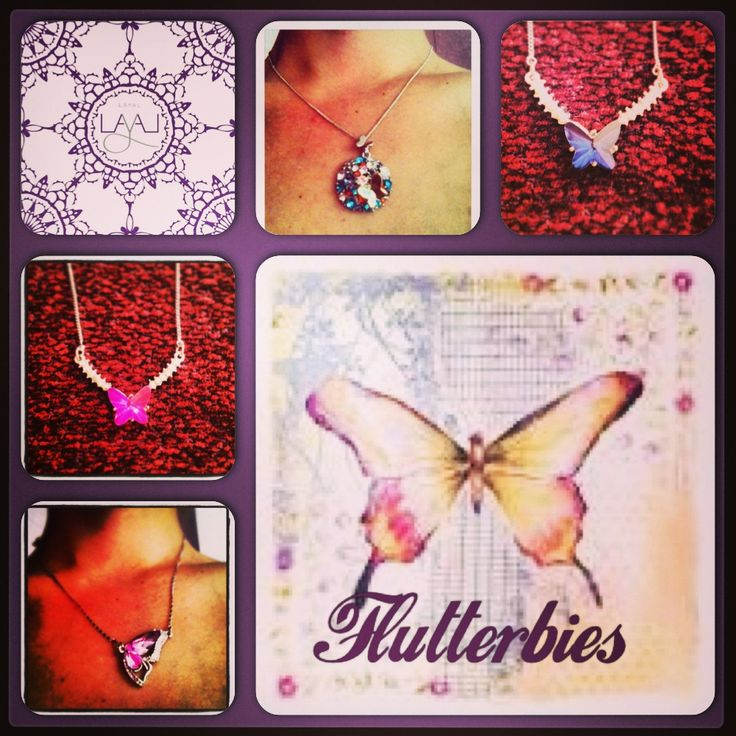 Layal glyfada butterfly necklaces