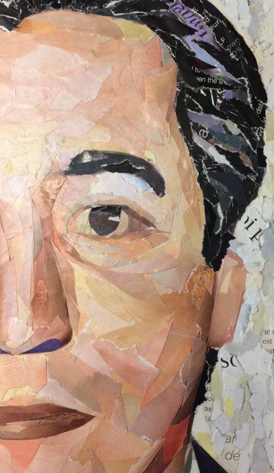 WORK IN PROGRESS... commissioned portraits (detail) ©philippe patricio 2017