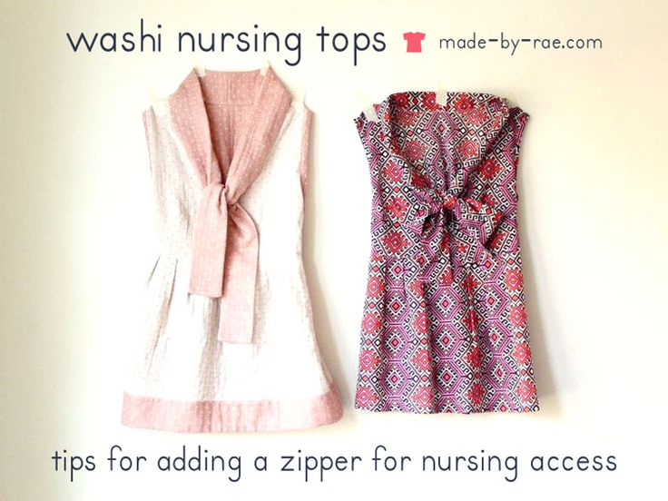 10 Breastfeeding Friendly Sewing Patterns & Tutorials   #2 Cute as non-maternity