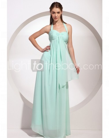 Halter Floor-length Sheath/Column Cocktail Party Dresses With Criss Cross http://www.lighttothebox.com/wedding-party-dresses.html: Floorlength Chiffon, Columns Halter, Bridesmaid Dresses, Wedding Parties Dresses, Floors Length Chiffon, Chiffon Prom Dresses, Wedding Party Dresses, Halter Floorlength, Halter Floors Length