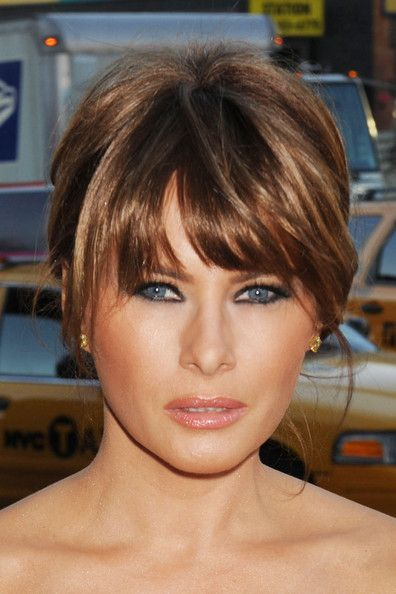 bangs short hair styles 432 best images about melania on donald 5049 | a378c0b05ebad49f5049a220e183ef67 robin hoods trump home