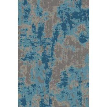 Maynard - Gray/Blue - Medium Rug | R402742 | Rugs | Roadside Furniture