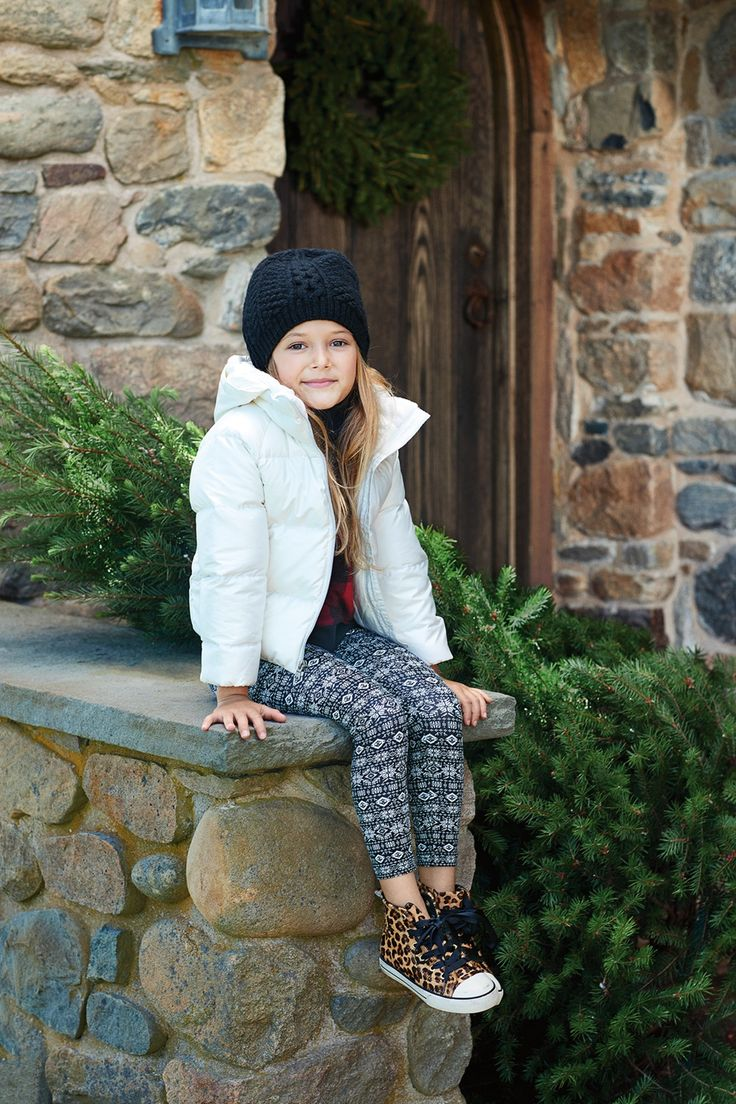 Polo Holiday Kids Fair Isle Cotton-Blend Legging