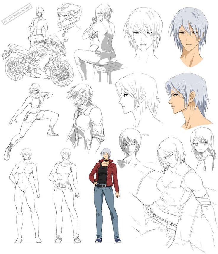 Character Design Manga Pdf : Best images about art deviantart precia t on