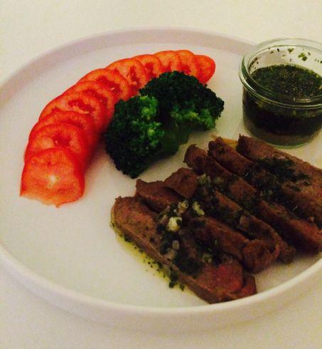 Chumichurri steak