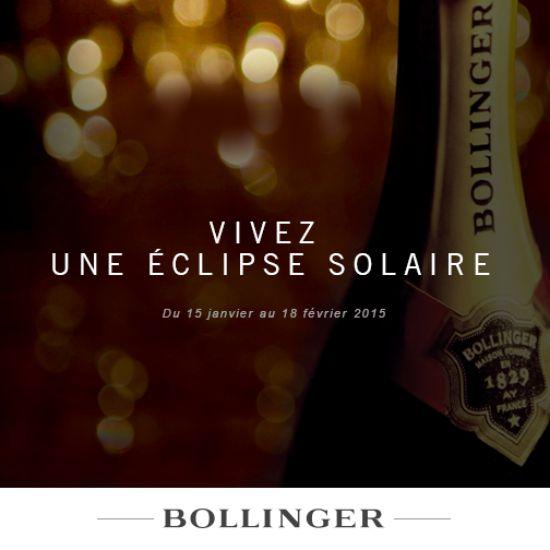 Vivre une éclipse solaire à bord d'un jet privé, avec Bollinger http://journalduluxe.fr/bollinger-eclipse-solaire/