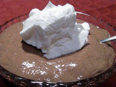 Chocolate Chia Pudding  full of omega-3's!