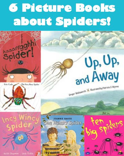 Spider activities: 6 Wonderful Picture Books about Spiders.