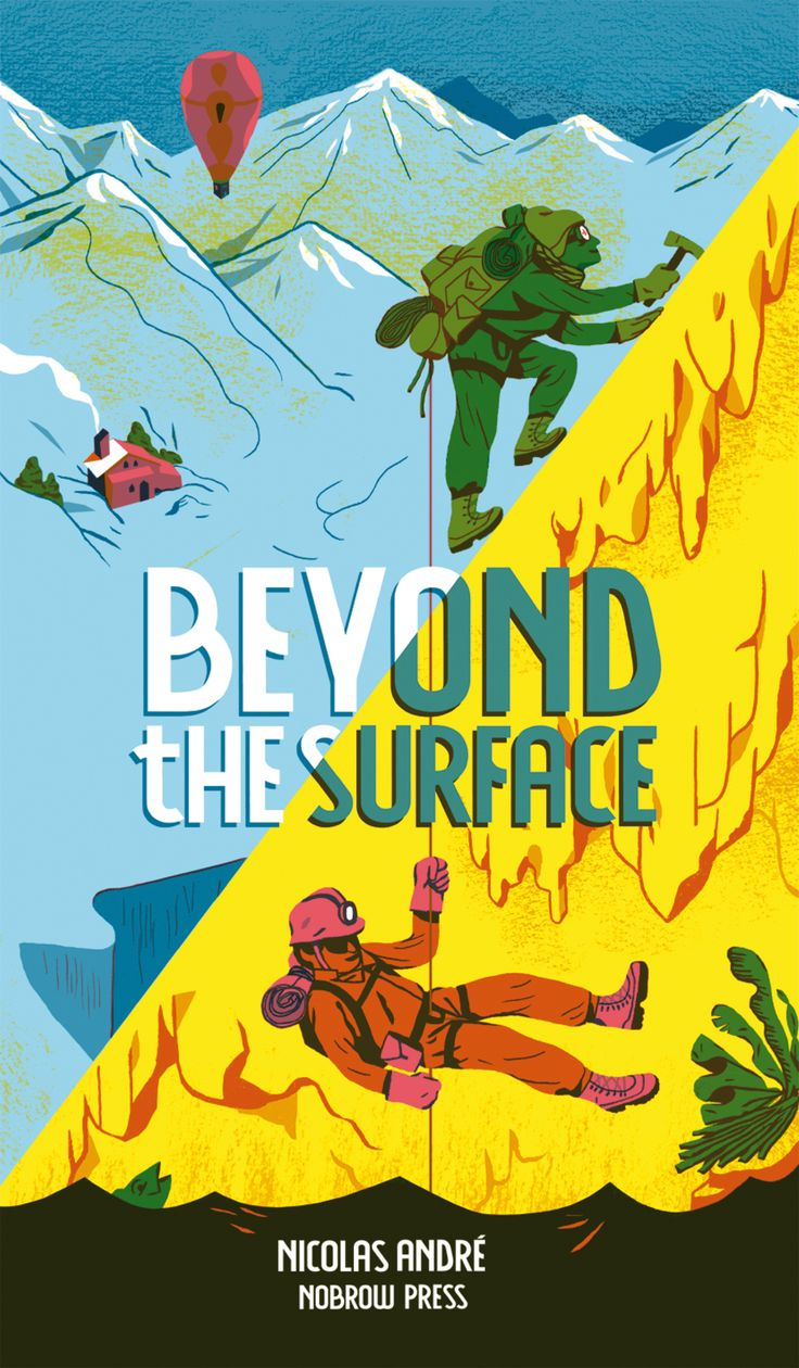 Beyond-the-surface-cover-nobrow-2014 Illustration Nicolas André