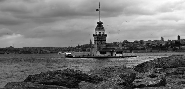 The Maiden's Tower & Galata, Istanbul by Arda Erlik Photography on 500px
