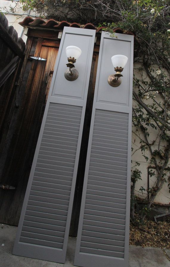 Things To Make With Old Shutters