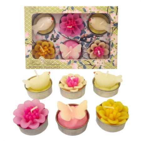 These stunning tea lights are perfect for weddings, hen parties and Mehndi celebrations.  Use to scatter on tables, as centre pieces or these would make stunning wedding and party favours.  The pastel colours would lend the self well to a vintage feel wedding or a lovely spring summer wedding as they include floral, bird and butterfly designs from www.fuschiadesigns.co.uk £7.99 per box of 6.