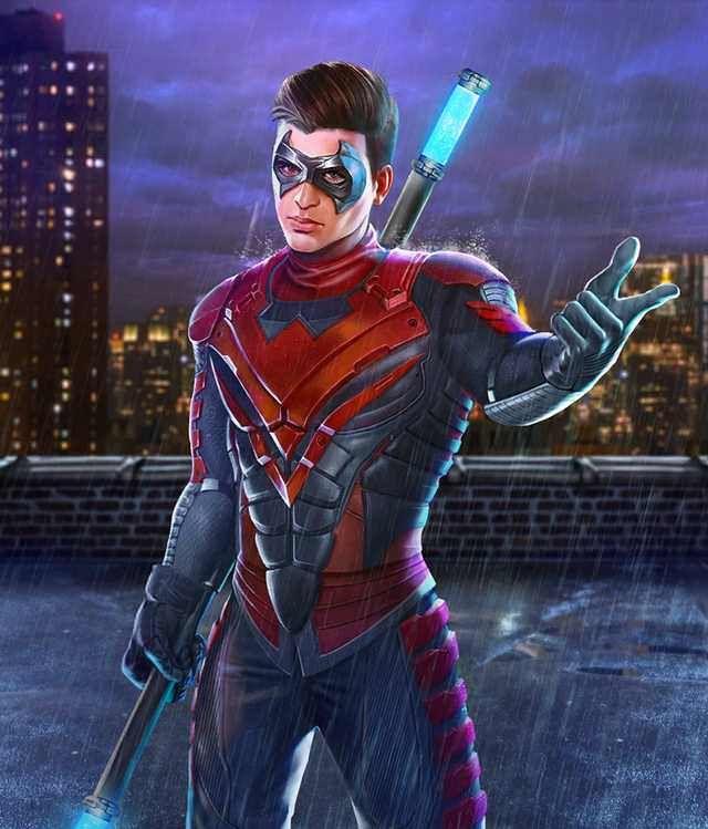 Injustice 2 Mobile Roster Nightwing Dc Comics Superheroes Robin Superhero