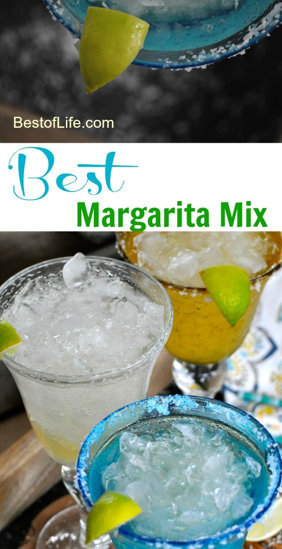 Who wants to spend a half hour squeezing fresh limes and get enough juice for two drinks?  With this best margarita mix you don't have to sacrifice time or add extra calories. Margarita Recipes | Easy Margarita Recipes | Margarita Mix Ideas | Best Margari
