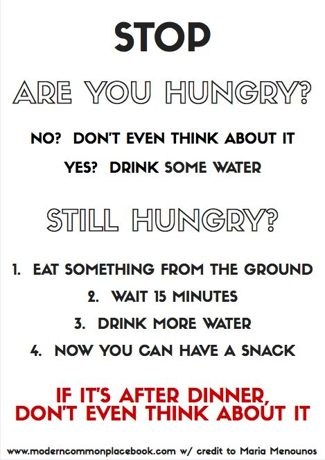 Maria Menounos's Rules for Eating (with free printable)