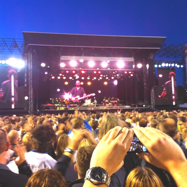 Bruce Springsteen, live in Oslo. Life is good :-)