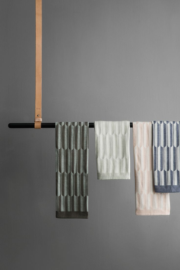The Clothes Rack from Ferm Living is perfect for your hanging storage needs. Whether you use it in the bedroom for hanging up clothes, in the bathroom for hanging towels, or in the kitchen as a unique way of hanging pots and pans.