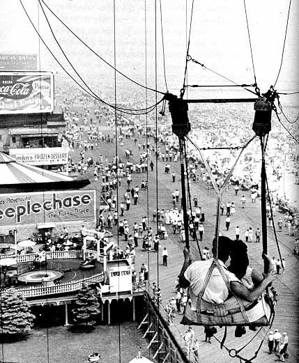 Coney Island, NY through the Eyes of a Child in the 60's