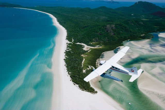 Hill Inlet - Whitsunday Islands_Seaplane