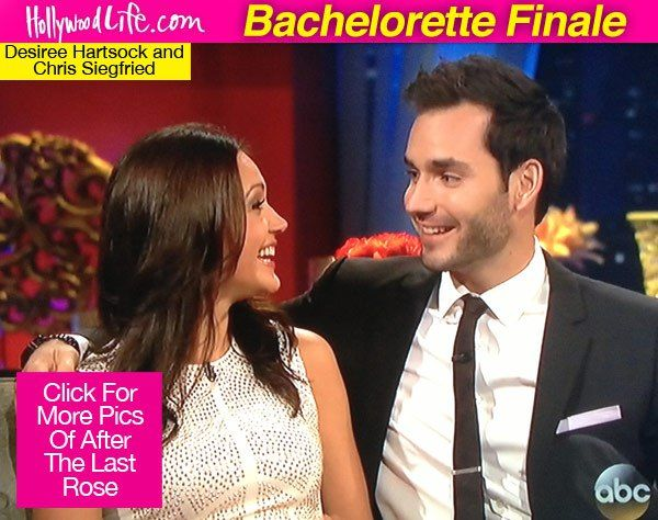 'Bachelorette: After The Final Rose': Desiree Hartsock & Chris Siegfried In Love - Hollywood Life