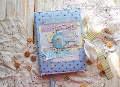 My scrap: ♥Мальчуковый звездный блокнотик)♥