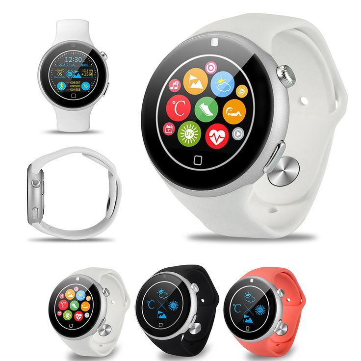 Aiwatch C5 360 Degree Rotating Crown Bluetooth4.0 Sports Smart Watch MTK2502 Heart Rate Sleep Monitor IP67 Waterproof Smartwatch //Price: $94.34      #FirstDayOfSummer