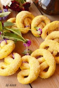 Фото к рецепту: Печенье на желтках.
