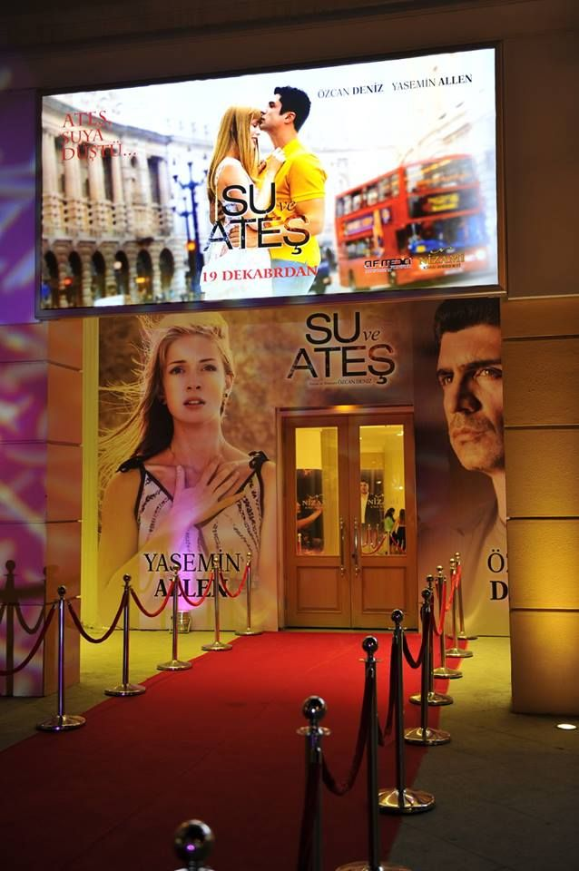 Su Ve Ateş Azerbaycan Bakü Nizami Cinema Center Galası