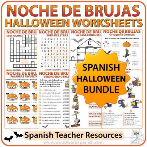 halloween spanish coloring pages