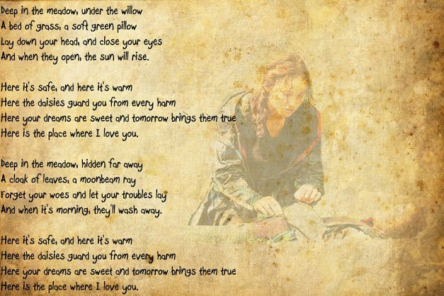 The Hunger Games - Deep in the Meadow (lyrics) - YouTube