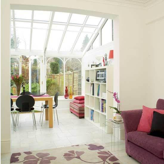 Open plan conservatory