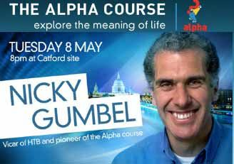 THE ALPHA COURSE: THE GOSPEL ACCORDING TO NICKY GUMBEL
