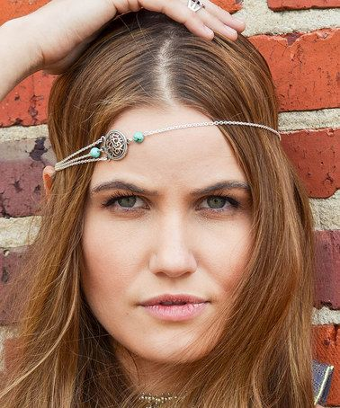 Love this Turquoise & Silver Savannah Headpiece by FPCO Limited on #zulily! #zulilyfinds