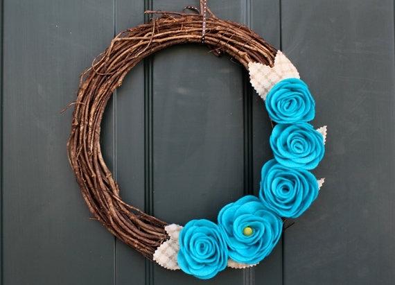 Spring wreaths