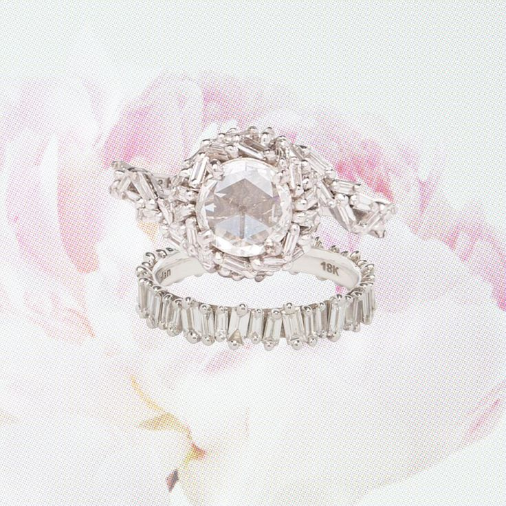 Unique Engagement Ring and Wedding Band Pairings