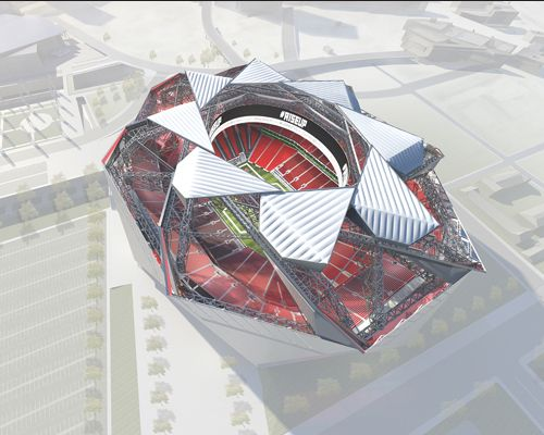 New Atlanta Falcons Stadium Design More Than a Box With a Lid | ENR: Engineering News Record | McGraw-Hill Construction