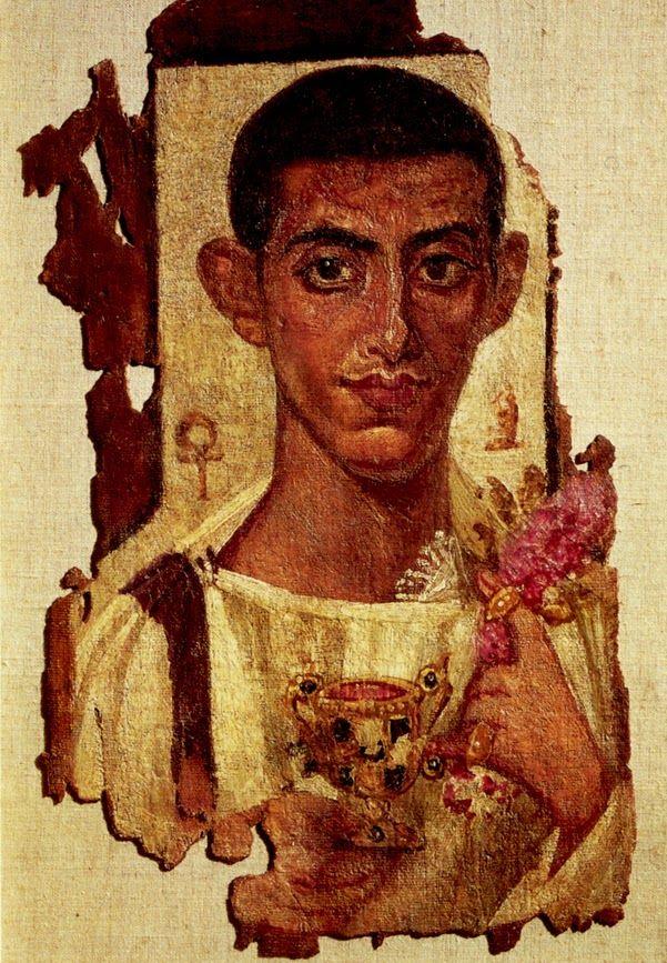 Fayum portrait - 75 artworks - painting