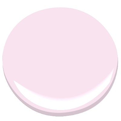 Benjamin Moore i love you pink 2077-70 For my laundry room