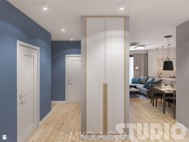nietypowe układy mieszkań-projekty - zdjęcie od MIKOŁAJSKAstudio - Hol / Przedpokój - Styl Skandynawski - MIKOŁAJSKAstudio