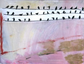 Mary Newcomb: 'Here is a Winters Day', 1978