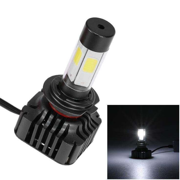 Pair of 80W 9600LM H7 Car High Power COB LED Headlight Fog Sale Online Shopping 6000k - Tomtop.com