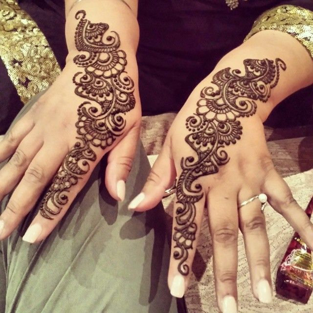 Henna for both Hands