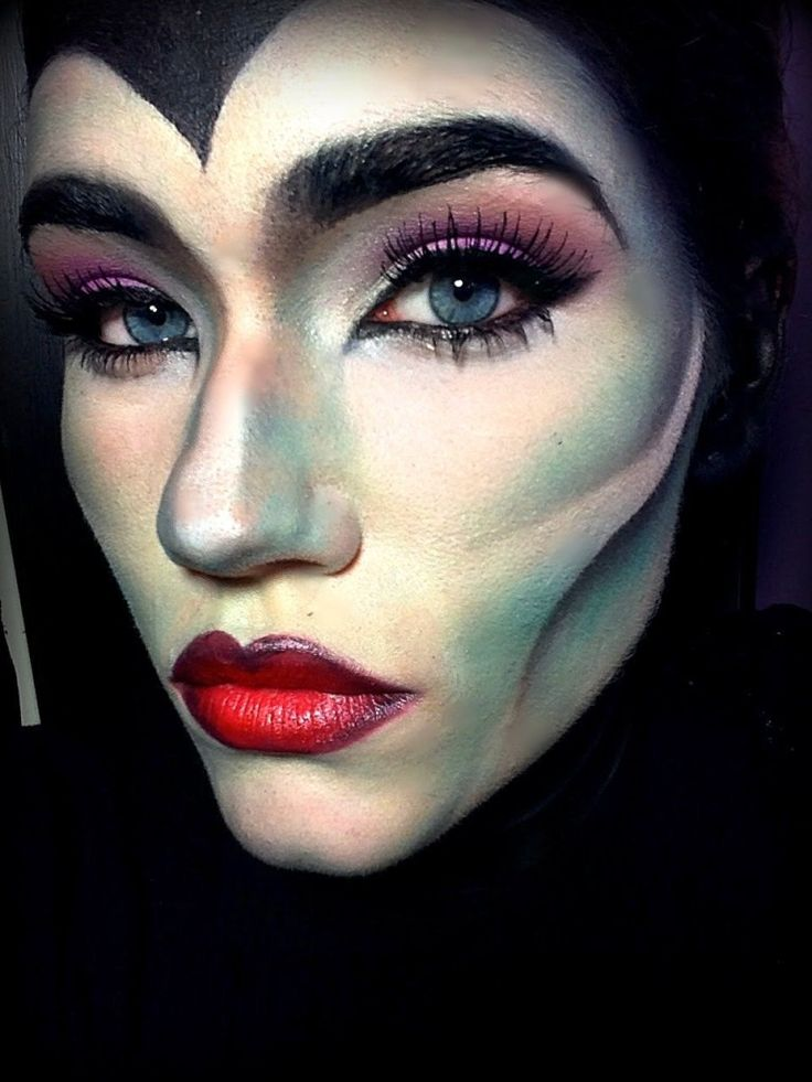 Top 25 Halloween Maleficent Makeup Ideas In This Season