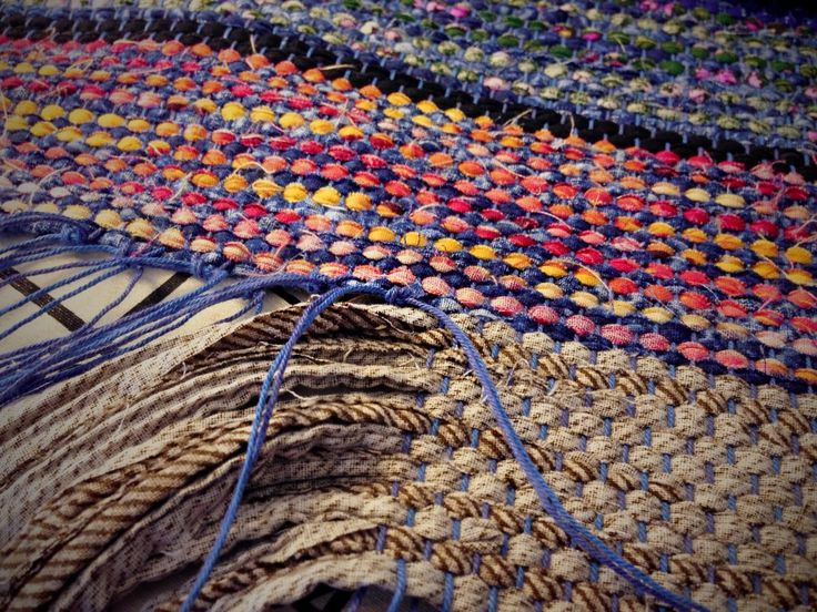 367 Best Weaving Rag Rug Images On Pinterest Diy Rugs Making And