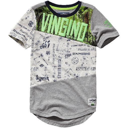 Vingino® boys T-shirt Henderic Grey Mele