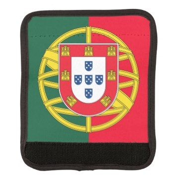 Portuguese flag quality luggage handle wrap Zazzle_luggagehandlewrap