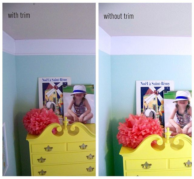 Picnik collage by hi sugarplum! Faux crown molding: nursery idea Love these colors too