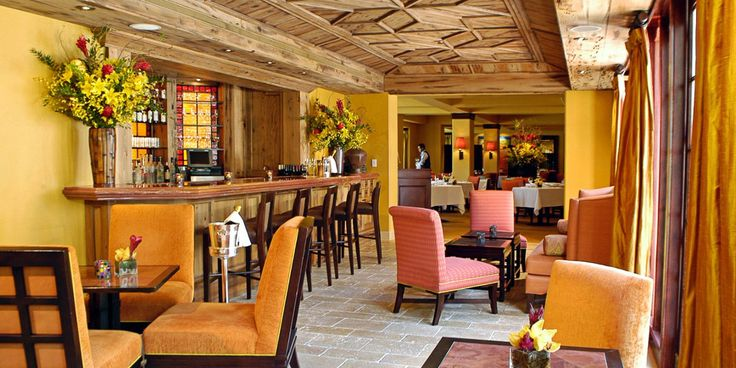 The Brazilian Court: Near the pool and next to Cafe Boulud, a bar area serves guests in the afternoon and evenings.