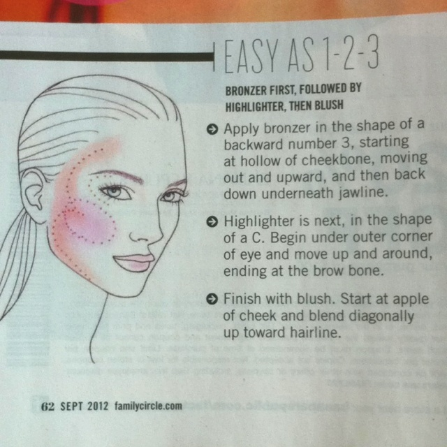 45 best images about Make-Up Tutorial: Blush on Pinterest   Blush ...