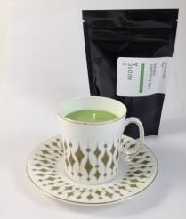Teacup Candle. Lime & Coconut Infused.140  I am hand made with 100% SOY wax. My cup has been recycled / re-used / re-loved / re-newed / TEA-incarnated as a beautiful tea cup candle infused just for you. Included with me is a 50g bag of Tea